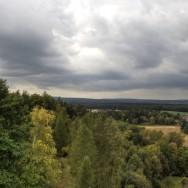 Výhled z rozhledny Bára